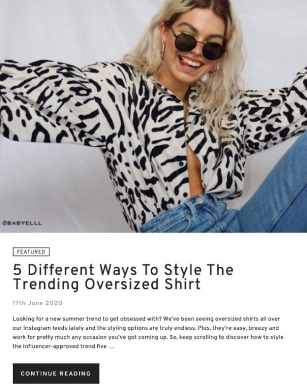 Bài đăng trên blog