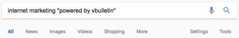 """Từ khóa """"được cung cấp bởi vbulletin"""""""